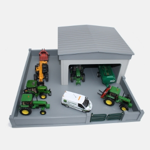 Model 2A – Machine Shed With Yard