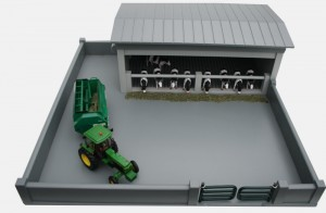Toy Cattle Shed Adam S Model Farms