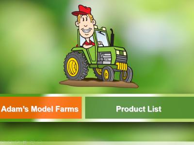 Adams Model Farms